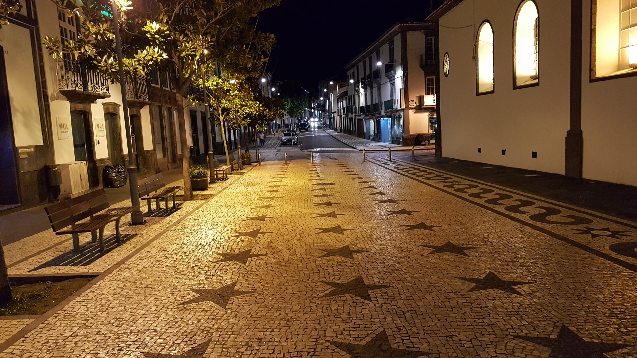 The City of Ponta Delgada