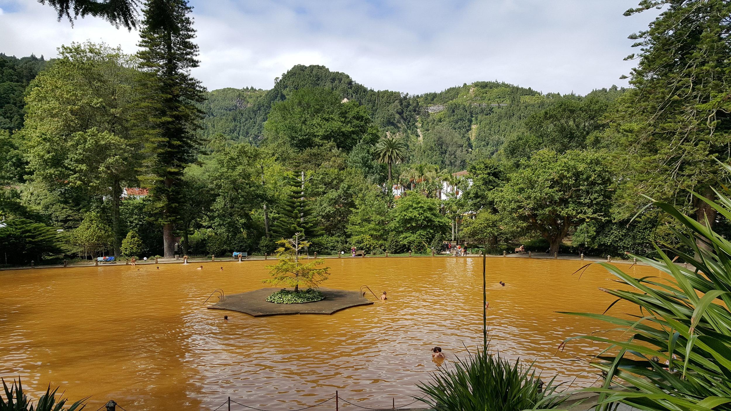 Terra Nostra geothermal pool