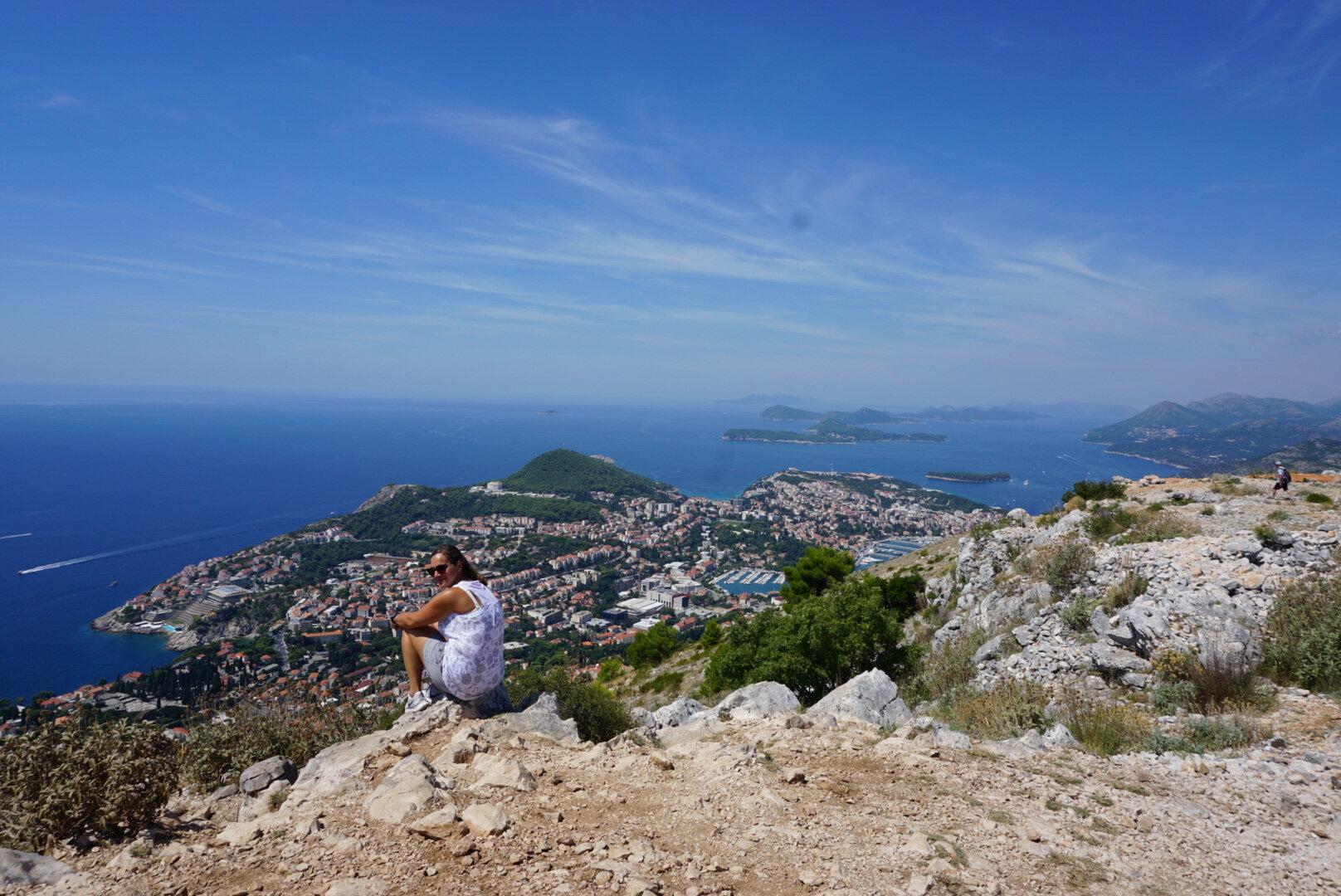 Mt Srd, Dubrovnik, Croatia