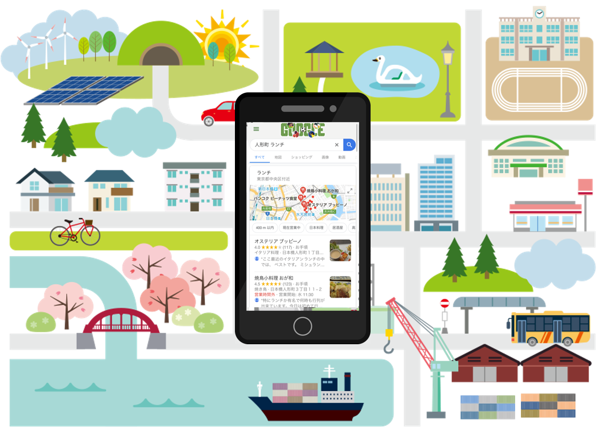 Google マップ MEOで集客UP・来店促進 -