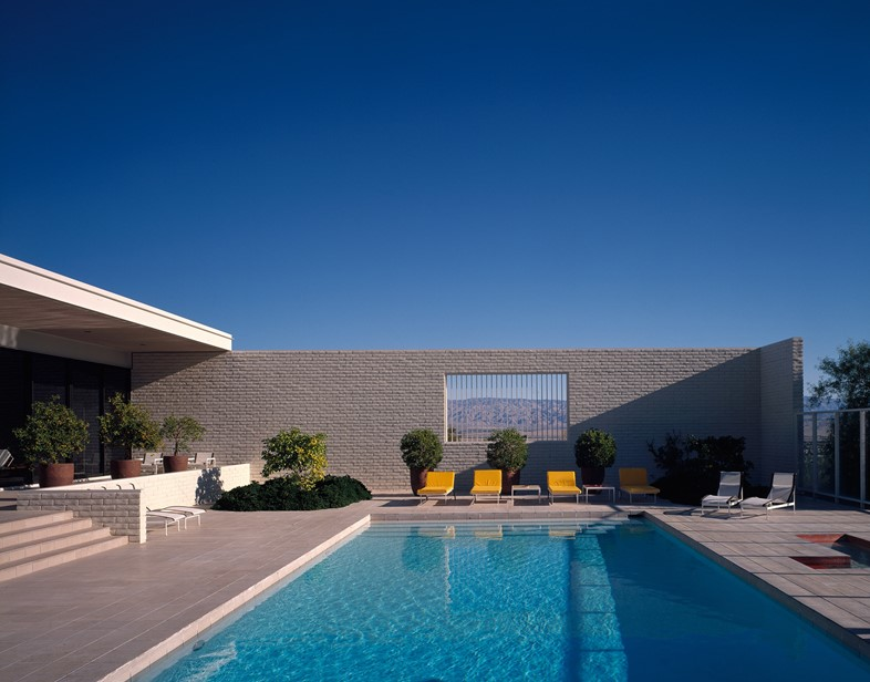 Craig Ellwood, Palevsky House, Palm Springs, 1971