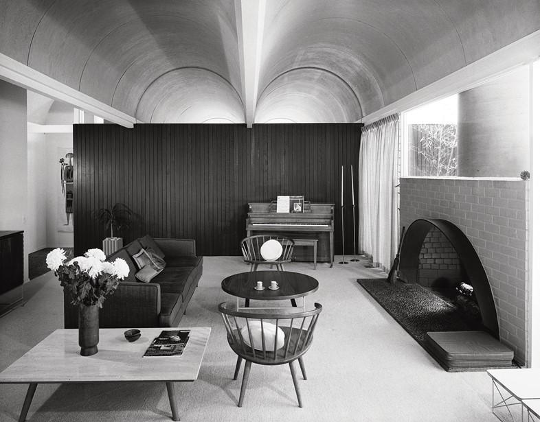 Richard Dorman & Associates, Vault Roof House, Sherman Oaks, 1959