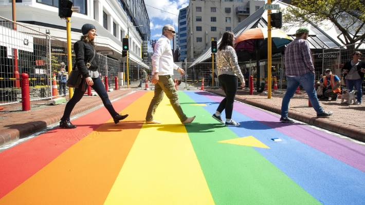 cuba street crossing