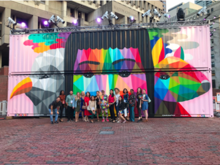Okuda San Miguel, Mermaids and Other Magical Creatures, HUBweek 2018