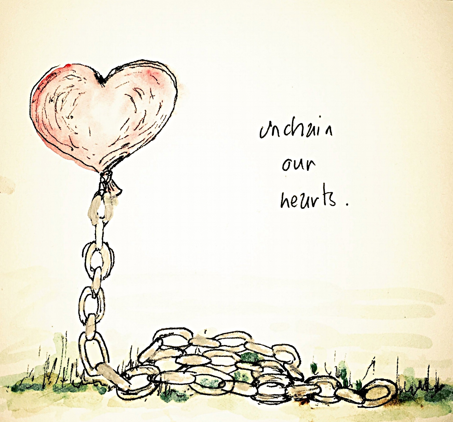 Unchain our hearts 1st attempt - ONE - UNITY & HOPE