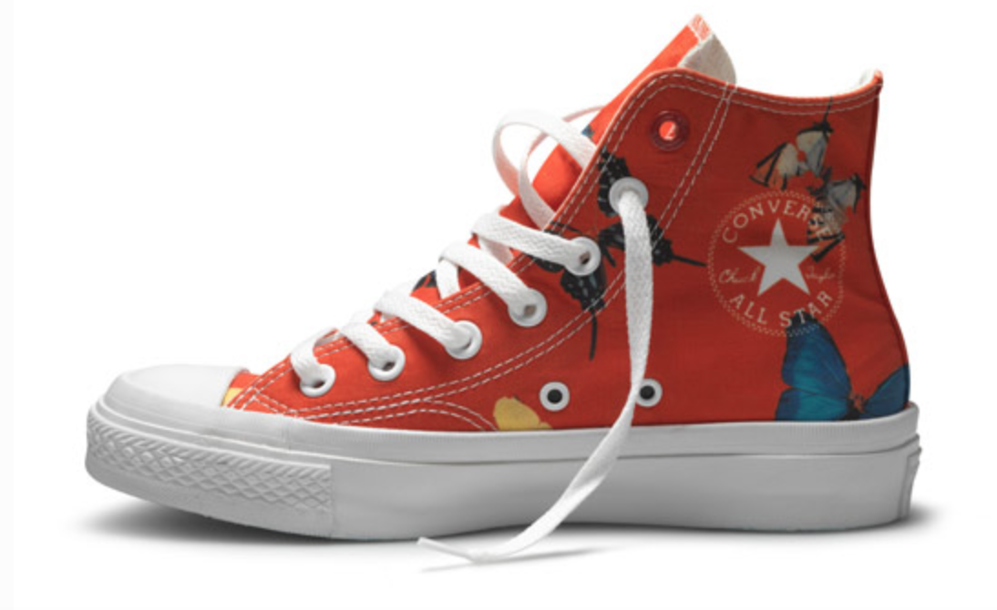 Damien Hirst / Converse 'Red Campaign'
