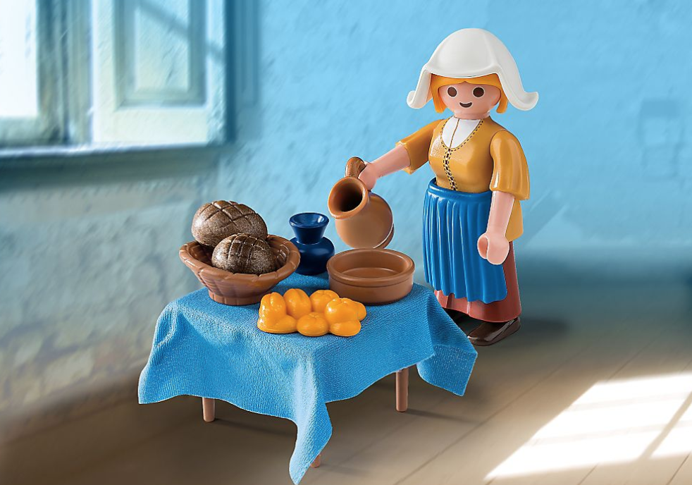 Playmobil X Vermeer's The Milkmaid / Rijksmuseum Collection