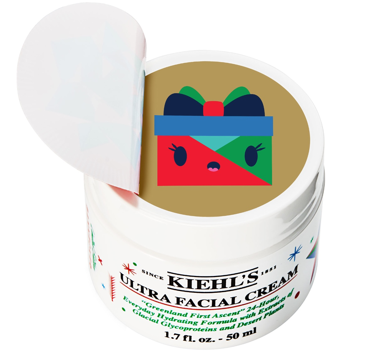 Kiehl's 2018 Holiday Packaging Collaboration with artist Andrew Bannecker