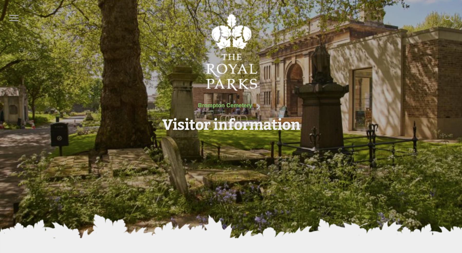 Haz click en la foto para visitar la web de Royal Parks.