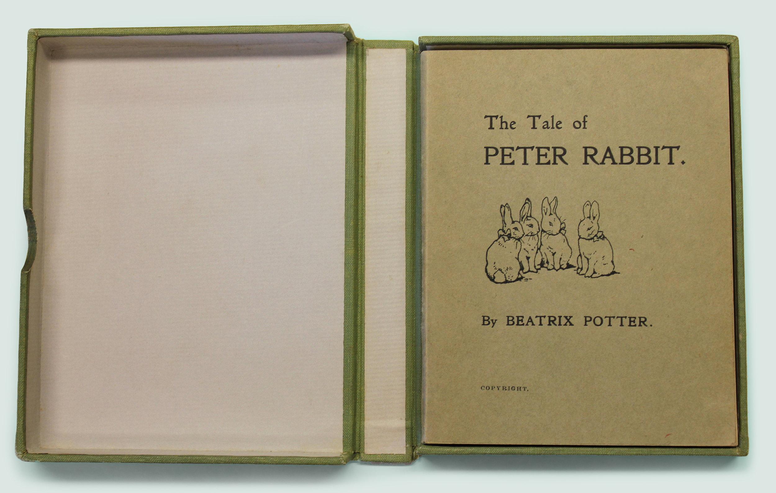 Primera edición de Peter Rabbit (1901)