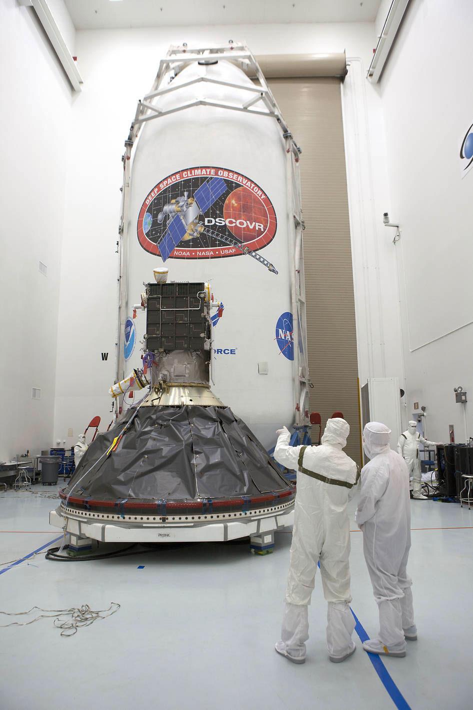 El satélite DSCOVR, el proyecto Triana de Al Gore.