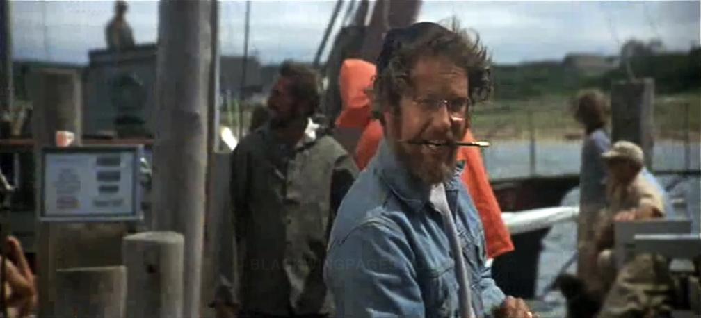 Richard Dreyfuss en Tiburón.