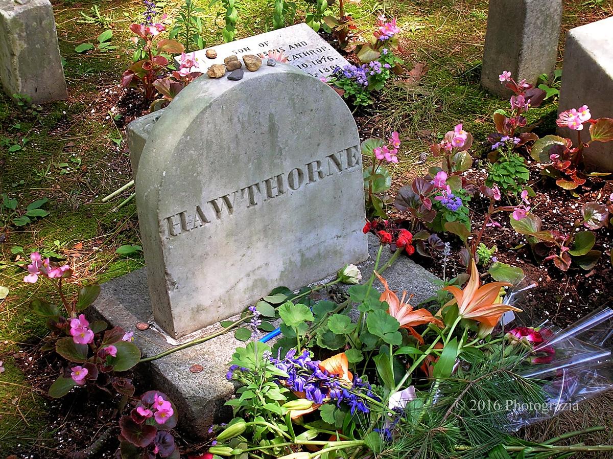 Tumba de Nathaniel Hawthorne (foto: photograzia).