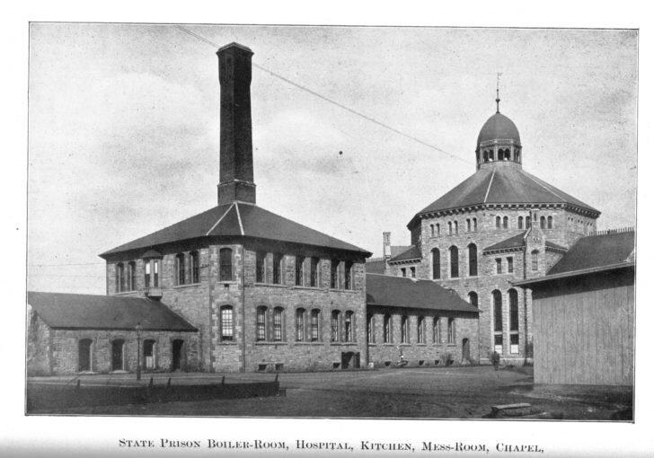 El hospital que había antes de The Place.