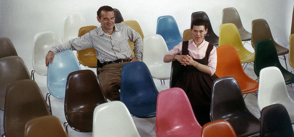 Ray y Charles Eames.