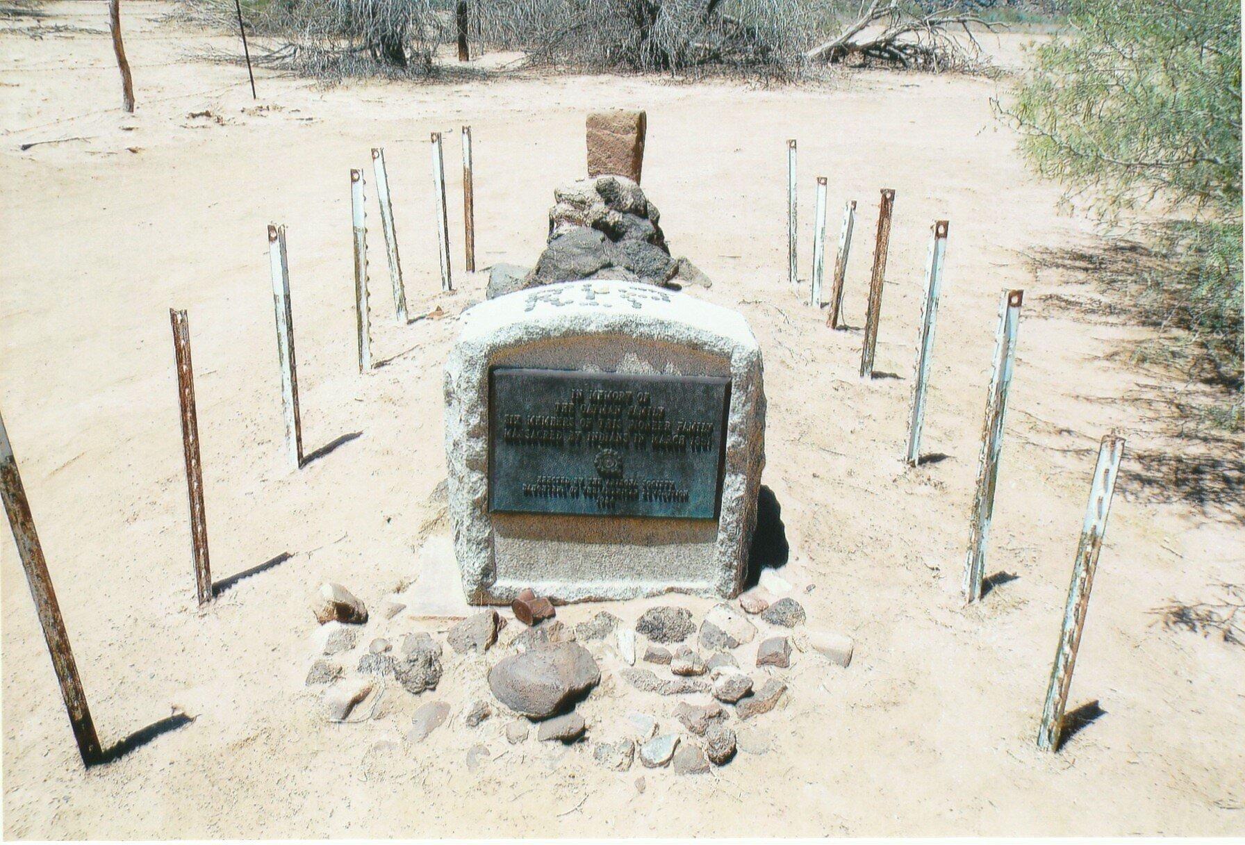 La tumba de los Oatman.