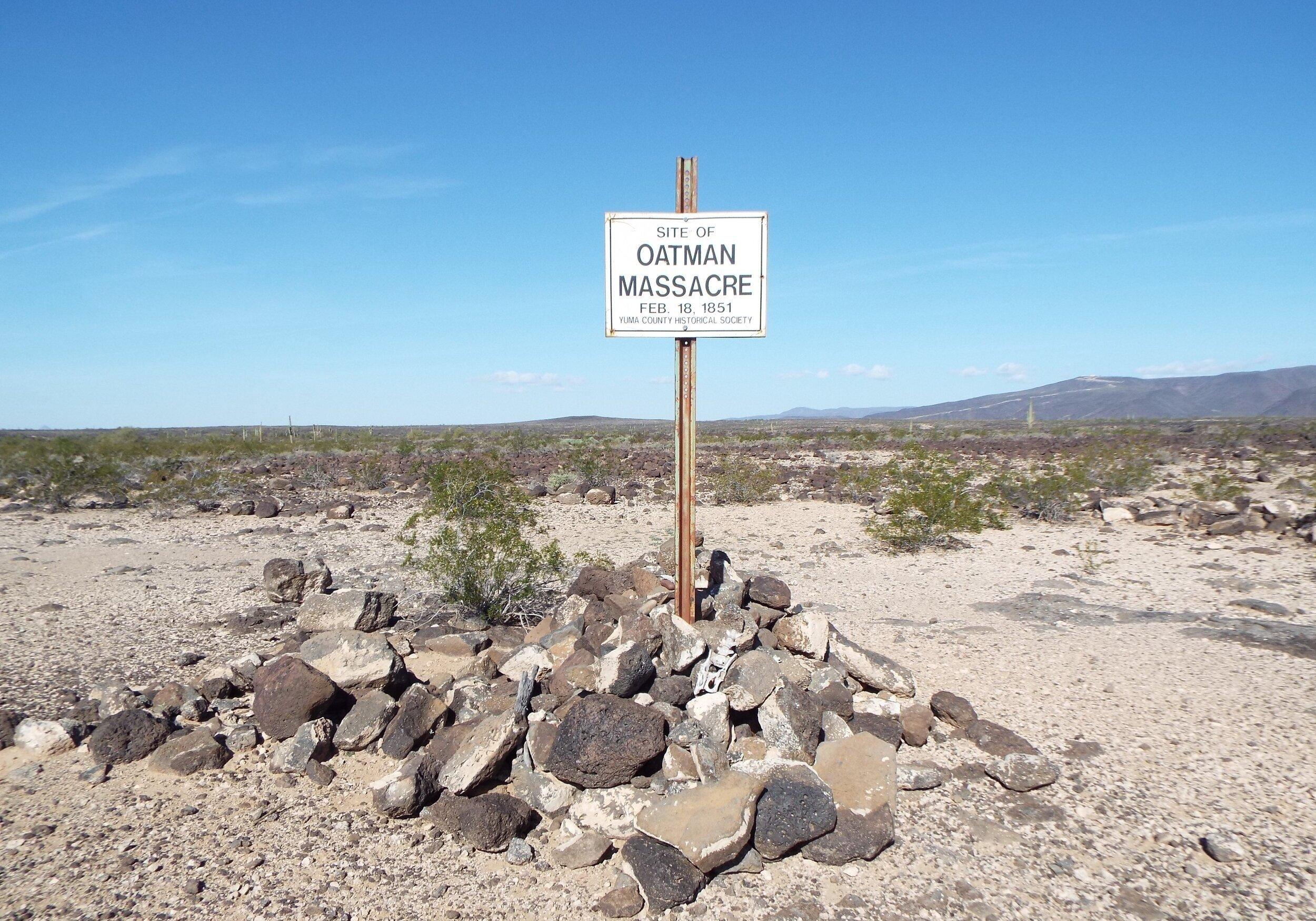 El lugar de la Masacre.
