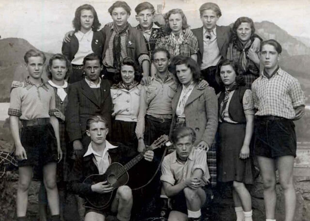 Un grupo de Piratas Edelweiss.