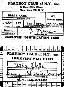 Su carnet del club.