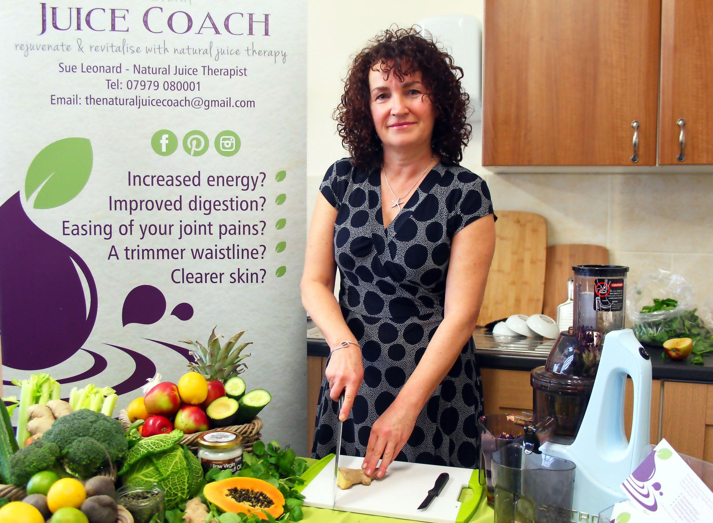 Sue Leonard - The Juice Coach