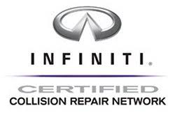 Stroyer Brothers North County San Diego and Escondido Infiniti collision repair certified