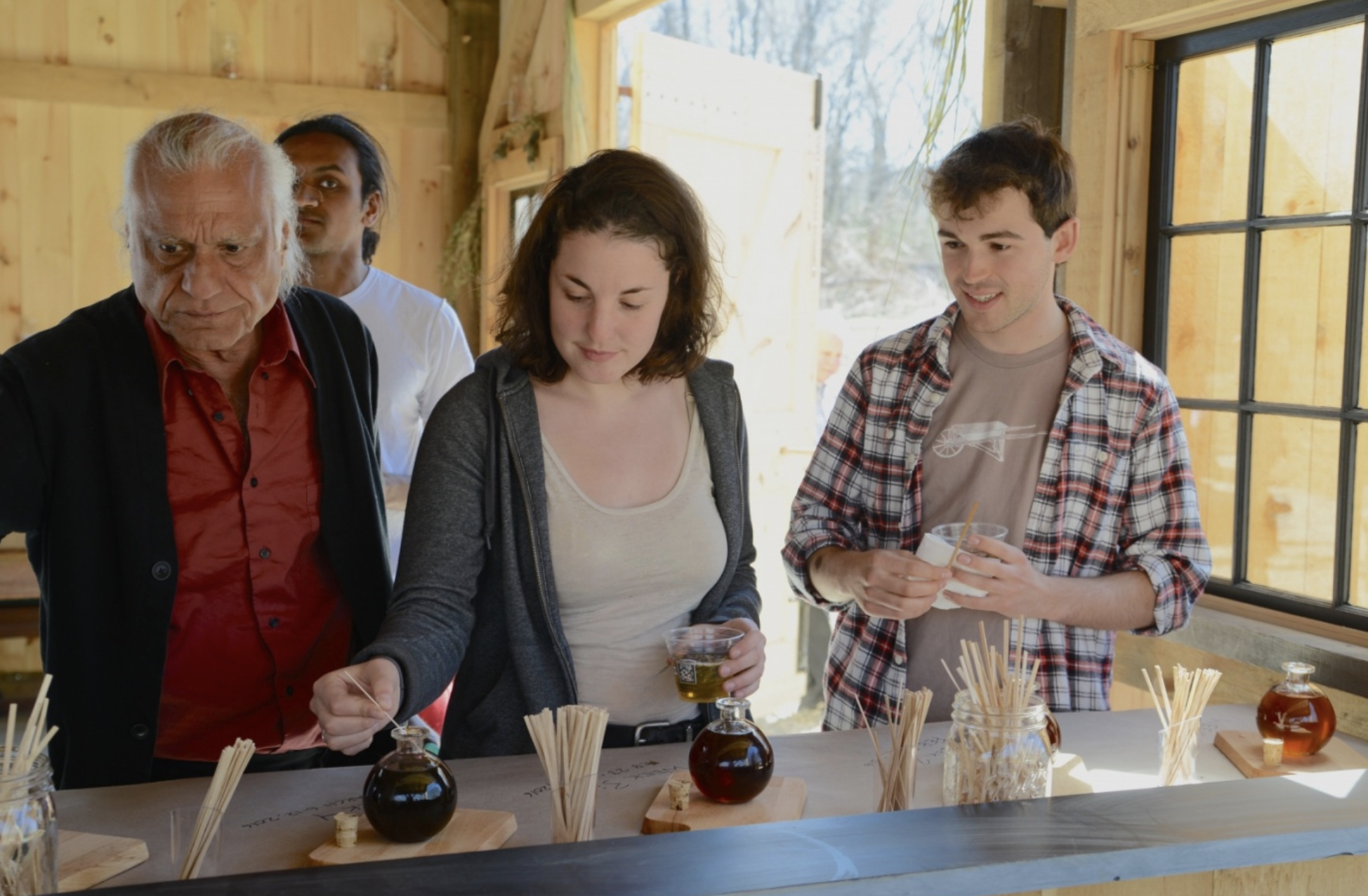 Celebrating maple at the Yale Landscape Lab - The Yale community gathered on Friday, April 15 at the newly constructed West Campus barn for Celebrating Maple: foodways, forests and climate change…
