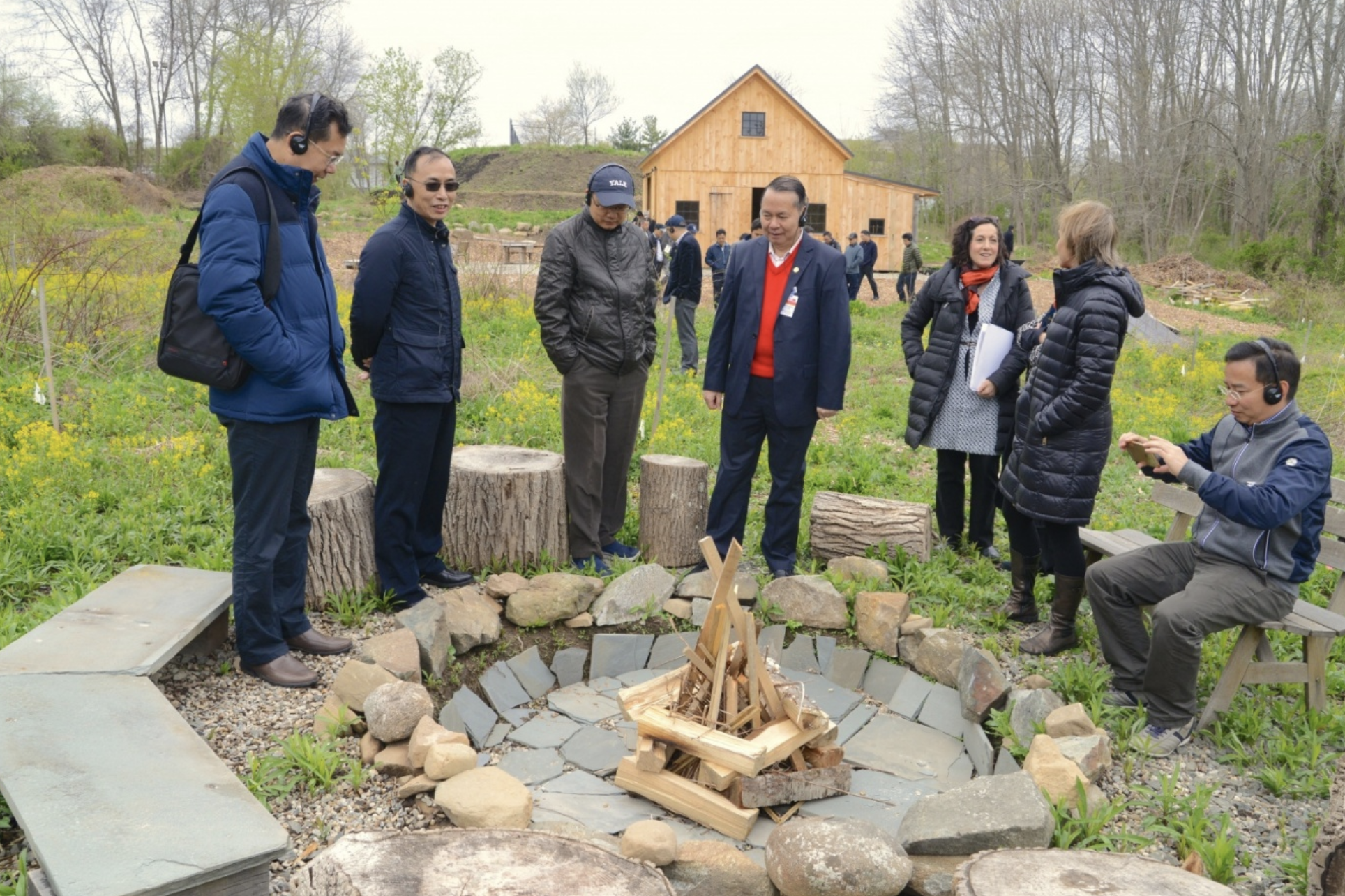 China - Yale Healthy Cities Leadership Program at West Campus - A delegation of twenty-five mayors and provincial leaders visited West Campus Thursday as part of the week-long Yale-China Healthy Cities executive leadership program…