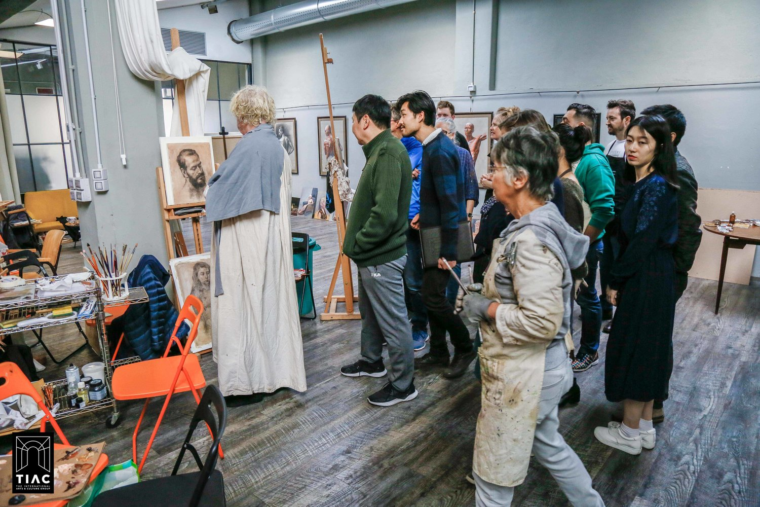 The Odd Nerdrum Painting Master Workshop 2018