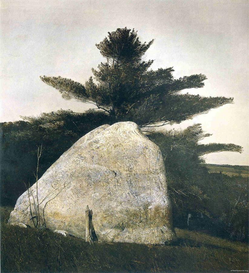 "Andrew Wyeth ""Pennsylvannia Landscape"""