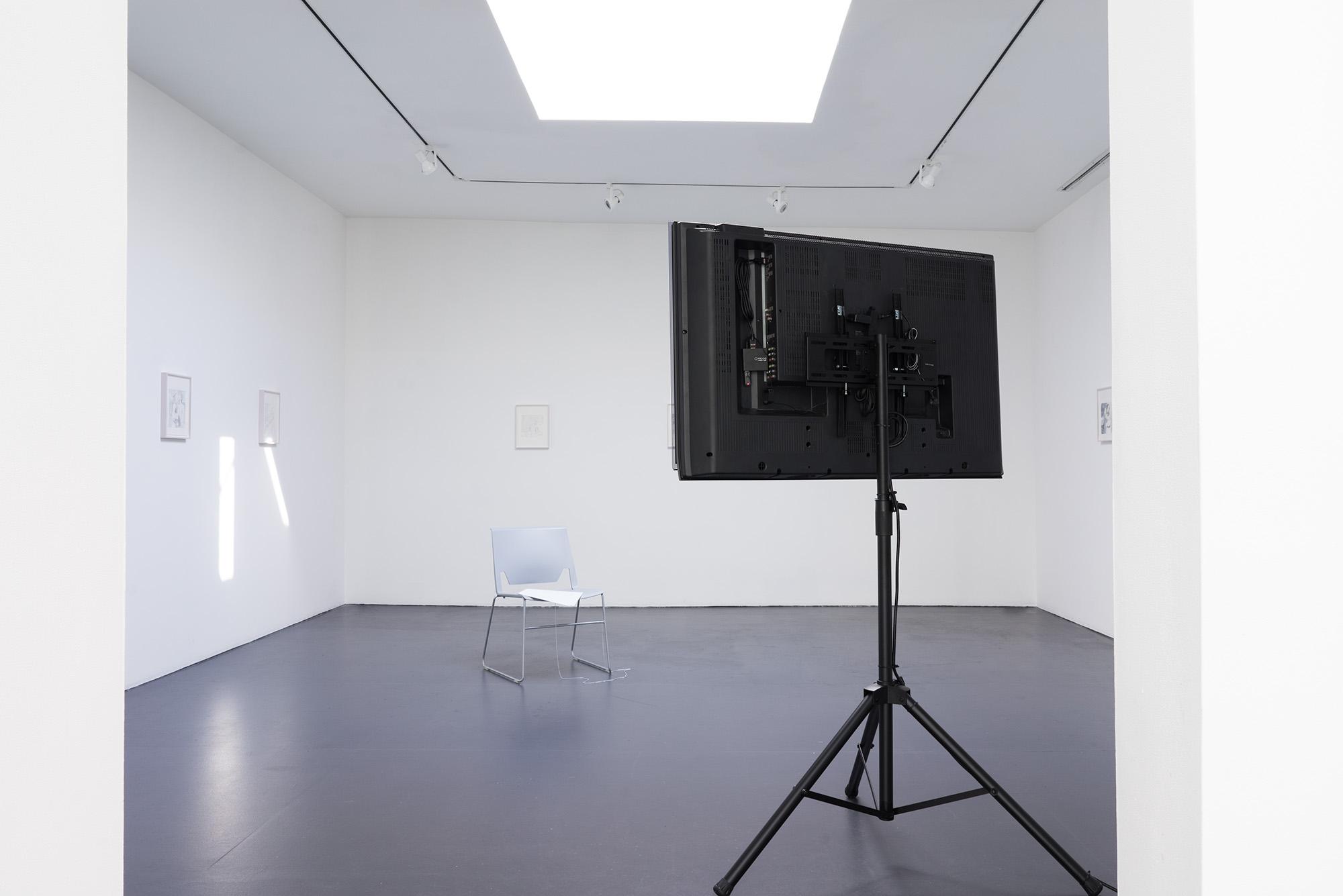 Installation view,  More than what I am providing , Friedemann Heckel & Luzie Meyer
