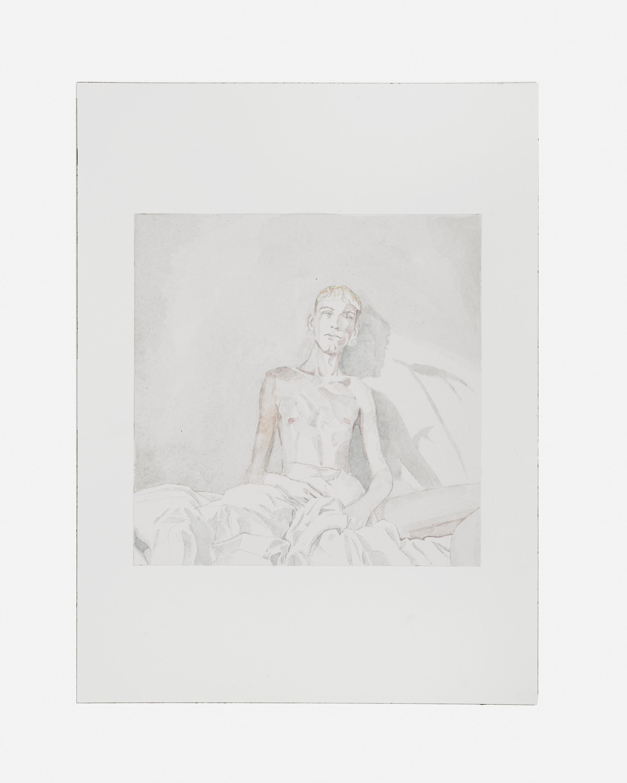 Friedemann Heckel,  Untitled (Instagram Aquarell #15) , 2018 Watercolor on paper