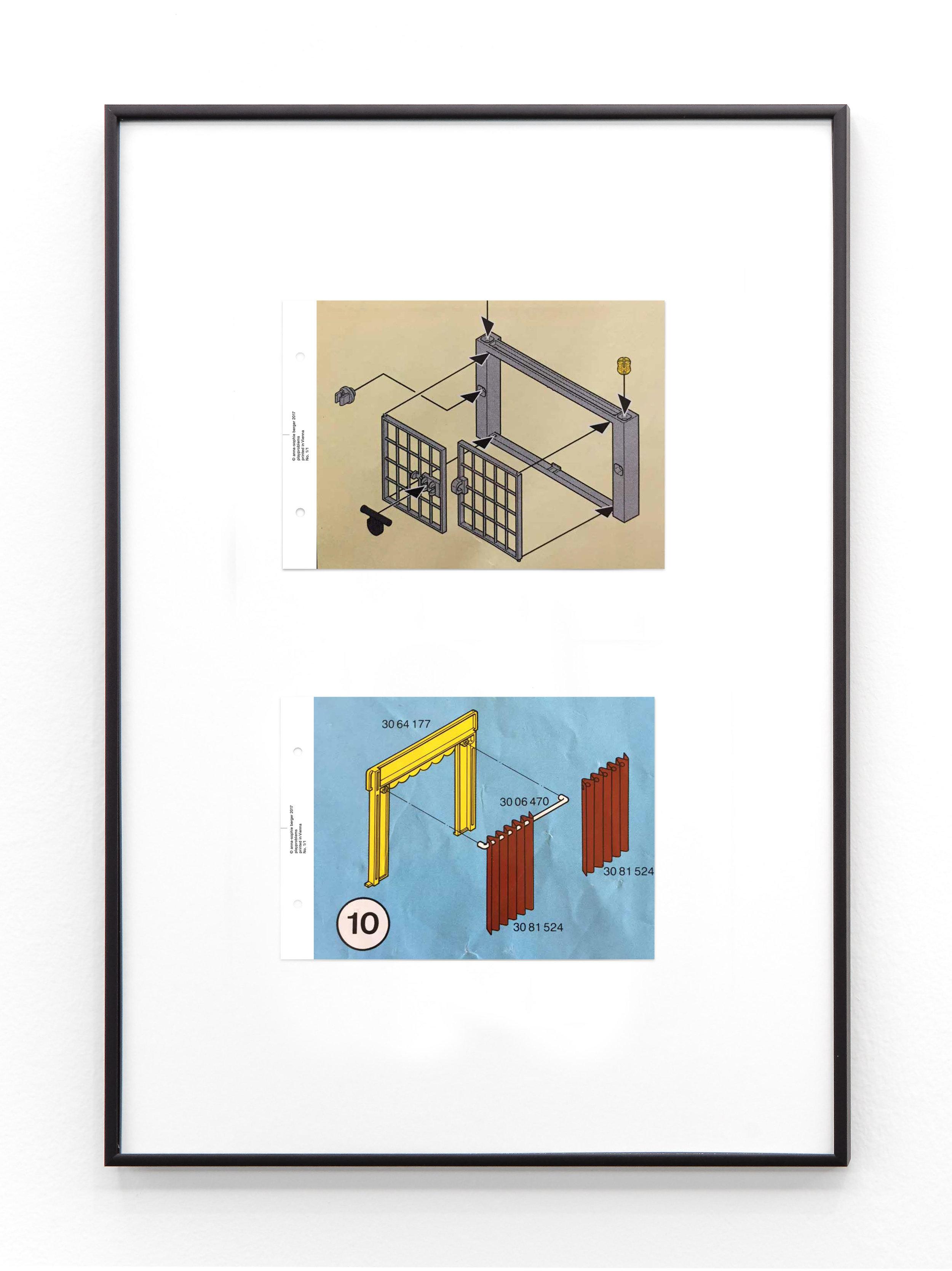 Anna-Sophie Berger,  Playproblems 2 , 2018 Laserprint on paper 60 x 40 cm