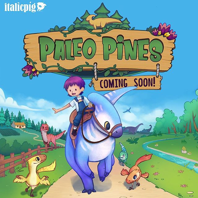 You guys have been asking for a name, and we've heard you loud and clear! So saddle up your favourite dino-steed! It's time to venture into the world of Paleo Pines!  #paleopines  Artists: @rubykissack @talunsart Dev funds: @NIScreen - - - #gamedev #indiedev #games #indiegames #game #art #dinosaur #Parasaurolophus #raptor #allosaurus #deinonychus #Character #characterdesign #creaturedesign #cute #gameart #art #digitalart
