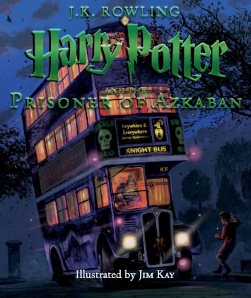 "H  arry Potter and the Prisoner of Azkaban: The Illustrated Edition   For twelve long years, the dread fortress of Azkaban held an infamous prisoner named Sirius Black. Now he has escaped, and guards heard Black muttering in his sleep, ""He's at Hogwarts . . . he's at Hogwarts.""  October 3"