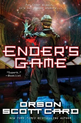 A classic early young adult novel  Set in Earth's future, the novel presents an imperiled mankind after two conflicts with an insectoid alien species. In preparation for an anticipated third invasion, children, including the novel's protagonist, Ender Wiggin, are trained from a very young age through increasingly difficult games including some in zero gravity, where Ender's tactical genius is revealed.