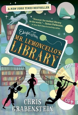 Escape from Mr. Lemoncello's Library  for Middle Readers  Kyle Keeley is the class clown, popular with most kids, (if not the teachers), and an ardent fan of all games: board games, word games, and particularly video games. His hero, Luigi Lemoncello, the most notorious and creative gamemaker in the world, just so happens to be the genius behind the building of the new town library.  Lucky Kyle wins a coveted spot to be one of the first 12 kids in the library for an overnight of fun, food, and lots and lots of games. But when morning comes, the doors remain locked. Kyle and the other winners must solve every clue and every secret puzzle to find the hidden escape route. And the stakes are very high.