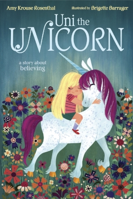 Uni the unicorn is told there's no such thing as little girls! But no matter what the grown-up unicorns say, Uni believes that little girls are REAL. Somewhere there must be a smart, strong, wonderful, magical little girl waiting to be best friends. In fact, far away (but not too far away), a real little girl believes there is a unicorn waiting for her, too. This magical story of friendship reminds believers and nonbelievers alike that sometimes wishes really can come true.