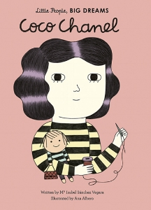 Following the death of her mother, Coco spent her early life in an orphanage, where she was taught how to use a needle and thread. From there, she became a cabaret singer, seamstress, hat maker, and, eventually, the world's most famous fashion designer. This moving book features stylish and quirky illustrations and extra facts at the back, including a biographical timeline with historical photos and a detailed profile of the designer's life.  Little People, BIG DREAMS is a best-selling series of books and educational games   that   explore the lives of outstanding people, from designers and artists to scientists and activists. All of them achieved incredible things, yet each began life as a child with a dream.