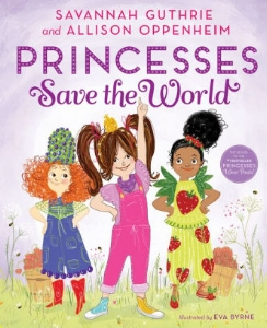 When Princess Penelope Pineapple receives an SOS from Princess Sabrina Strawberry, Princess Penny learns that the Strawberry Kingdom's bees have disappeared. Without bees, how will they enjoy their most precious fruit?  Penny knows the power of teamwork, so she calls a meeting of the Fruit Nations! And princesses from around the land—from Princess Beatrice Blueberry to Princess Kira Kiwi—answer the call to help a friend in need. With a little creative thinking and a whole lot of girl power, the princesses work together for  bee -utiful results.  TODAY 's beloved coanchor Savannah Guthrie and educator Allison Oppenheim have crafted another irresistible tale that celebrates how nothing is sweeter than friendship.