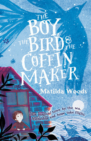 The Boy, the Bird, and the Coffin Maker by Matilda Woods   MIDDLE GRADES - Alberto lives alone in the town of Allora, where fish fly out of the sea and the houses shine like jewels. He is a coffin maker and widower, spending his quiet days creating the final resting places of Allora's people.  Then one afternoon a magical bird flutters into his garden, and Alberto, lonely inside, welcomes it into his home. And when a kindhearted boy named Tito follows the bird into Alberto's kitchen, a door in the old man's heart cracks open. Tito is lonely too–but he's also scared and searching for a place to hide. Fleeing from danger, he just wants to feel safe for once in his life. Can the boy and the old man learn the power of friendship and escape the shadows of their pasts?