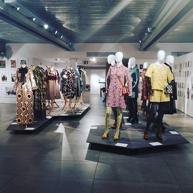 Sensory overload @dovecotstudios Orla Kiely exhibition, it's just like heaven.