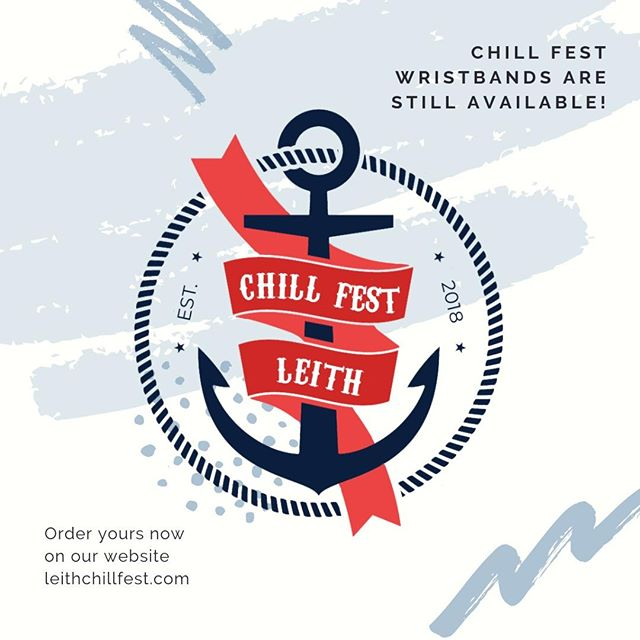 There's still plenty of time to get your hands on a Chill Fest wristband - they're valid for the next three weeks! Order yours from our website (link in bio) and enjoy £5 cocktails across Leith throughout August. . . . #chillfestleith #leith #loveleith #leithers #chooseleith #leithlife #edinburgh #edinburghfestivals #edfringe #edinburghfestival #thisisedinburgh #igersedinburgh #instaedinburgh #visitedinburgh #edinburghlife #cocktails #cocktailfestival #edinburghcocktails #edinburghdrinks #edinburghbars #mixology #cocktailbars #drinking #cocktailparty #craftcocktails #beautifulbooze