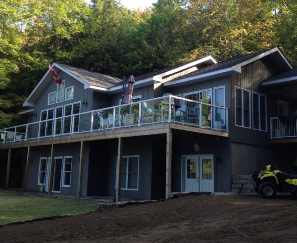 Custom Haliburton Cottage