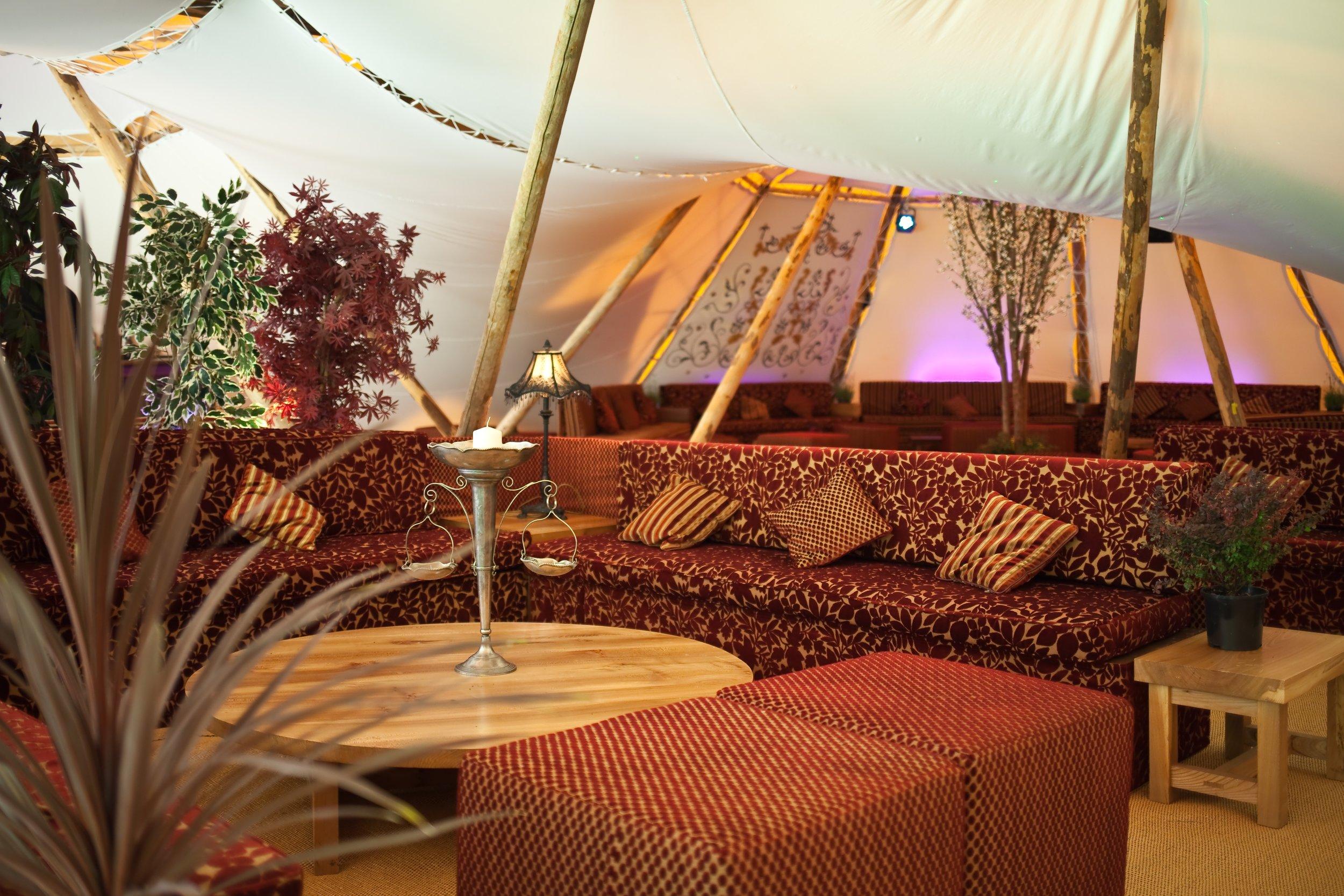 Dream festival wedding hospitality