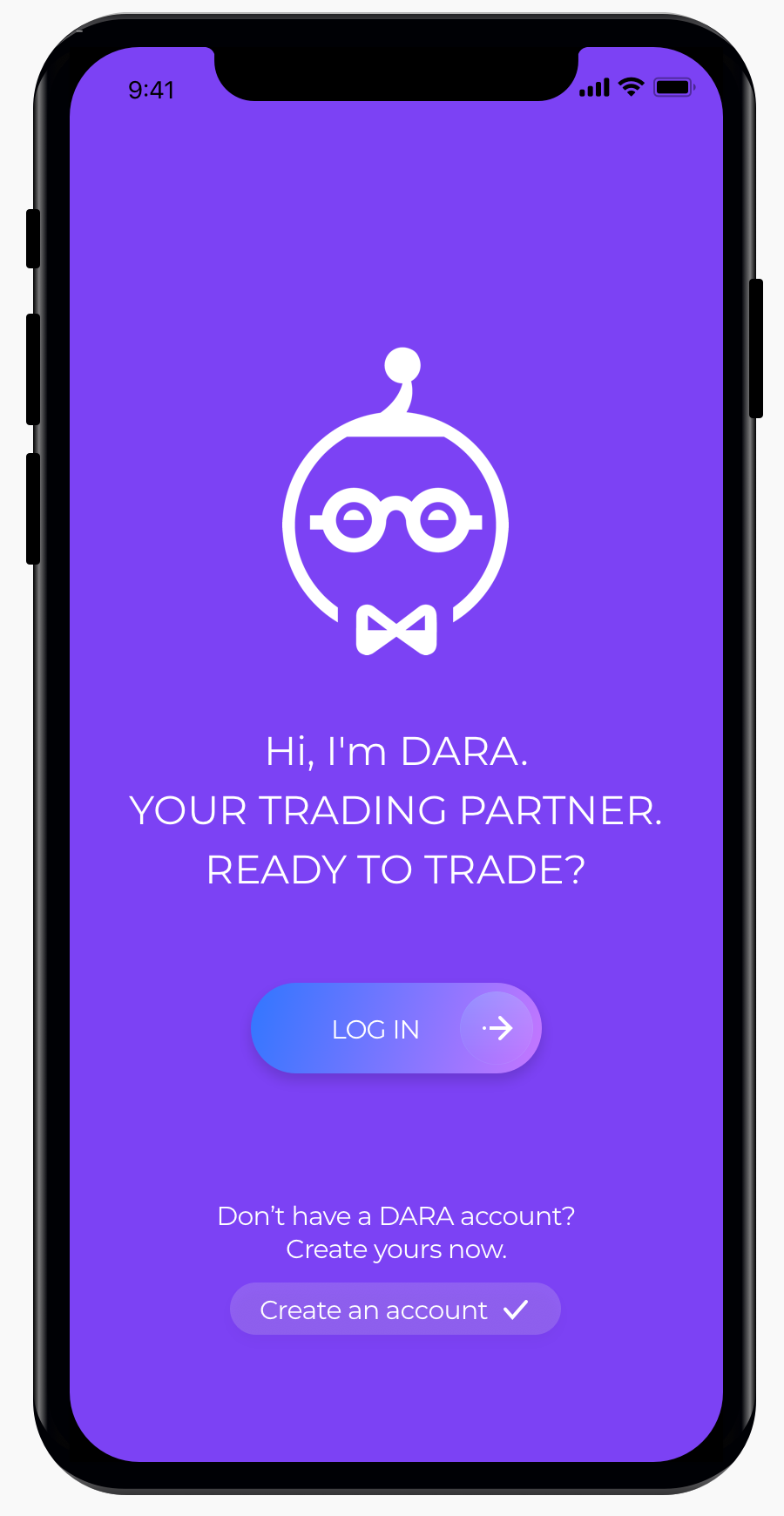 Connect DARA to your trading account