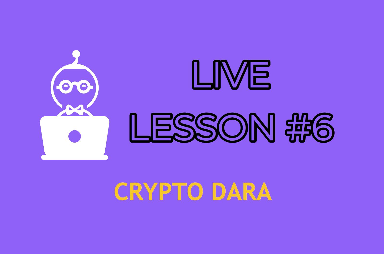 LESSON 6    ENTER