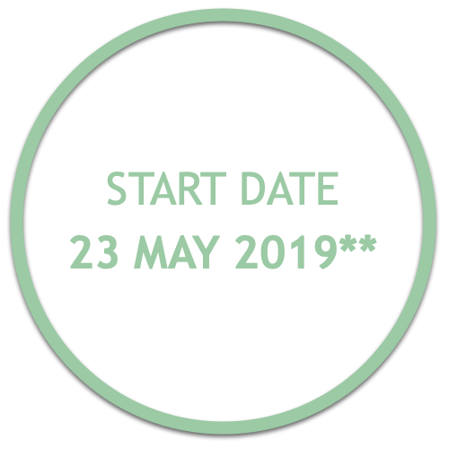 Start date of the course