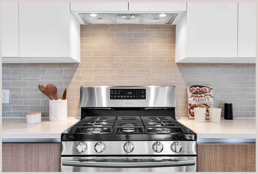 The sleek kitchens, highlighted by stainless steel appliances, are ideally suited for everyday tasks or your next culinary adventures.
