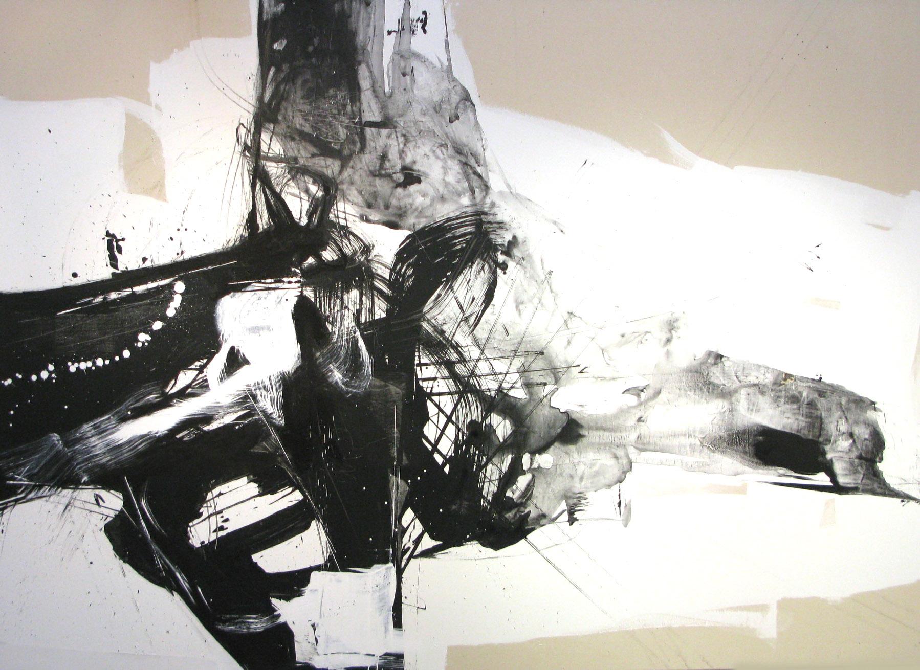 11 Aug 2009 , 147 x 2013 cm, mixed media on canvas, 2009