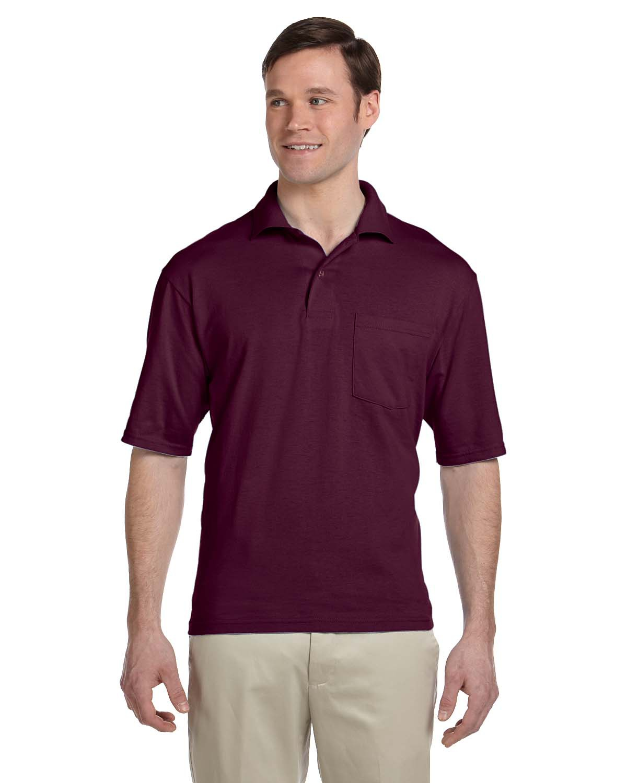50/50 Pocket Jersey Polo #436P